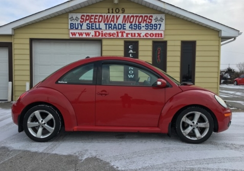 2006 VW Beetle TDI Diesel Manual 5 Speed