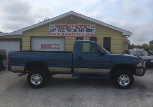 2002 Dodge 2500 SLT 24 Valve Commins Manual 4X4 SOLD!
